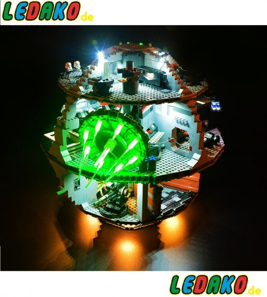 LED Set für Lego® UCS Death Star 10188 & 75159 von ledako light kit