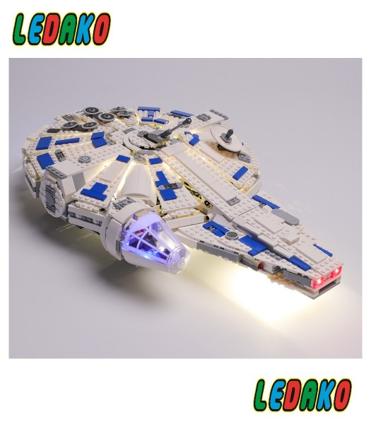 LED Set für Lego® Millenium Falcon Kessel Run 75212