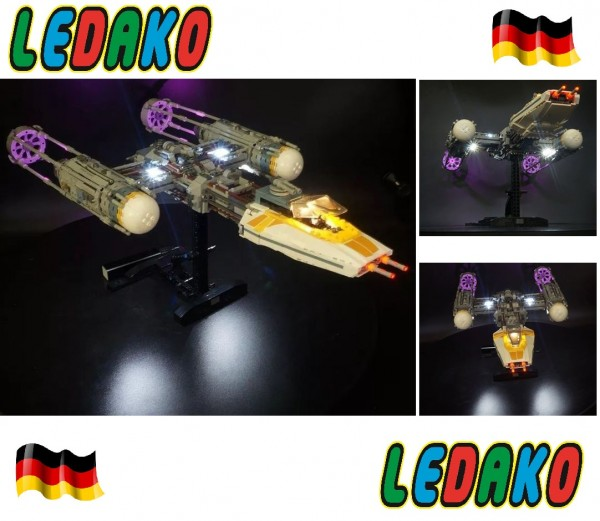 LED Set für Lego® Y-Wing 75181 Star Wars™